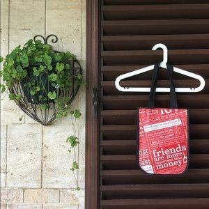 Lululemon small reuseable shopper tote bag